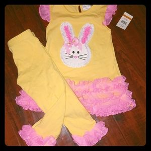 Emily Rose Bunny Dress w/ leggings ✨NWT✨